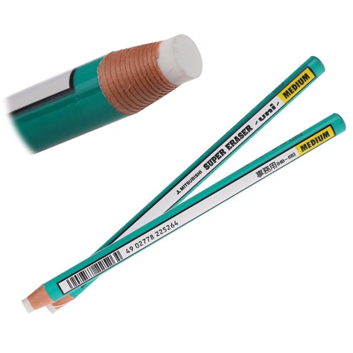 正品日本三菱卷纸橡皮擦EK-100 笔型橡皮 细节橡皮擦 随用随撕