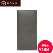 Honggu Hong Gu 2015 counters authentic men wallet wallets leather wallets 9201