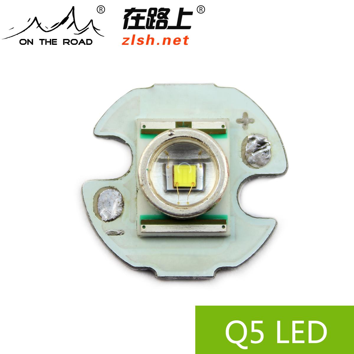 科瑞CREE 美国XR-E Q5 WC强光手电筒LED灯泡 可充电手电筒配件