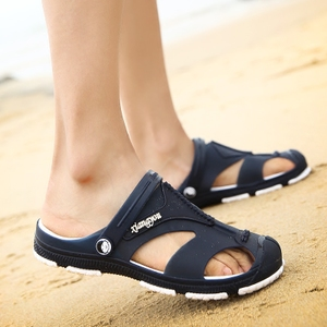 男防滑韩版夏季包头个性沙滩鞋