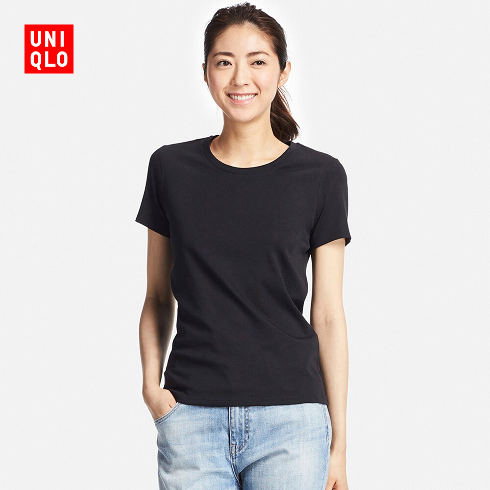 女裝 SUPIMA COTTON圓領T恤 短袖  182168 優衣庫UNIQLO