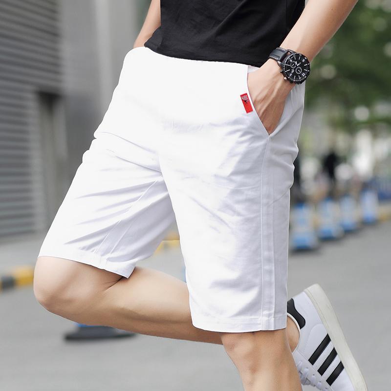 夏季运动5五分裤男士短裤男装休闲7七分中裤沙滩裤子男大裤衩薄潮