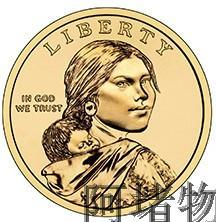 US Sacagawea dollar coin commemorative coins American Indians