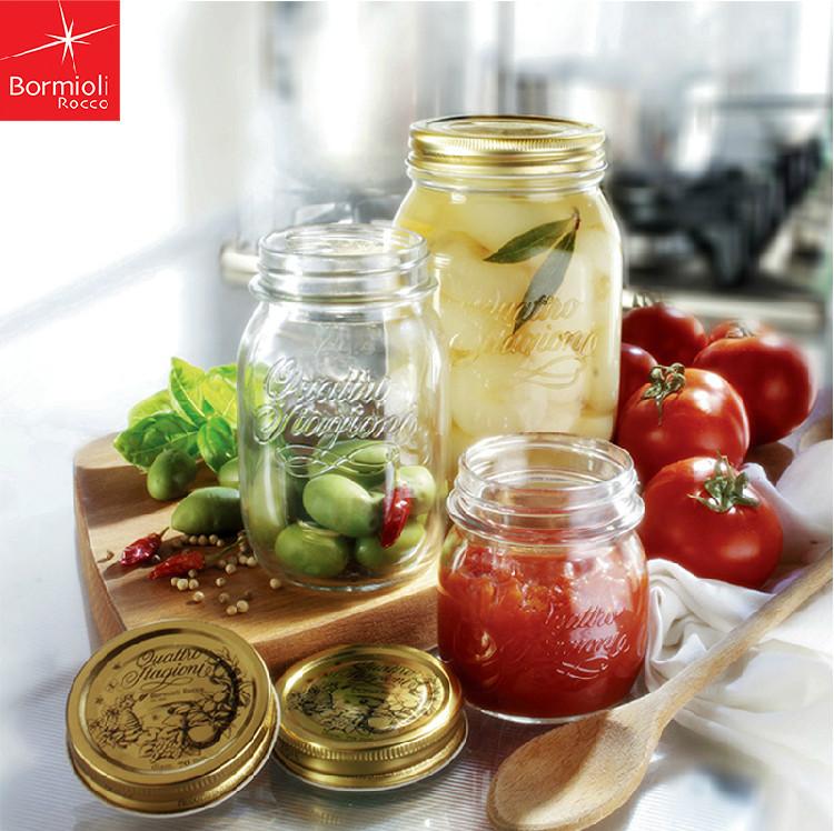 意大利 密封罐廚房雜糧儲物罐果醬茶葉蜂蜜奶粉食品玻璃瓶子