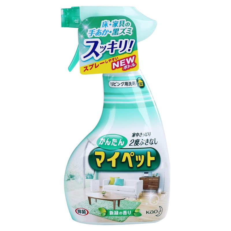 Японский оригинальный цветок король KAO интенсивный способ мебель моющее средство антибактериальный спрей подготовка 400ml* свежий трава дерево ладан