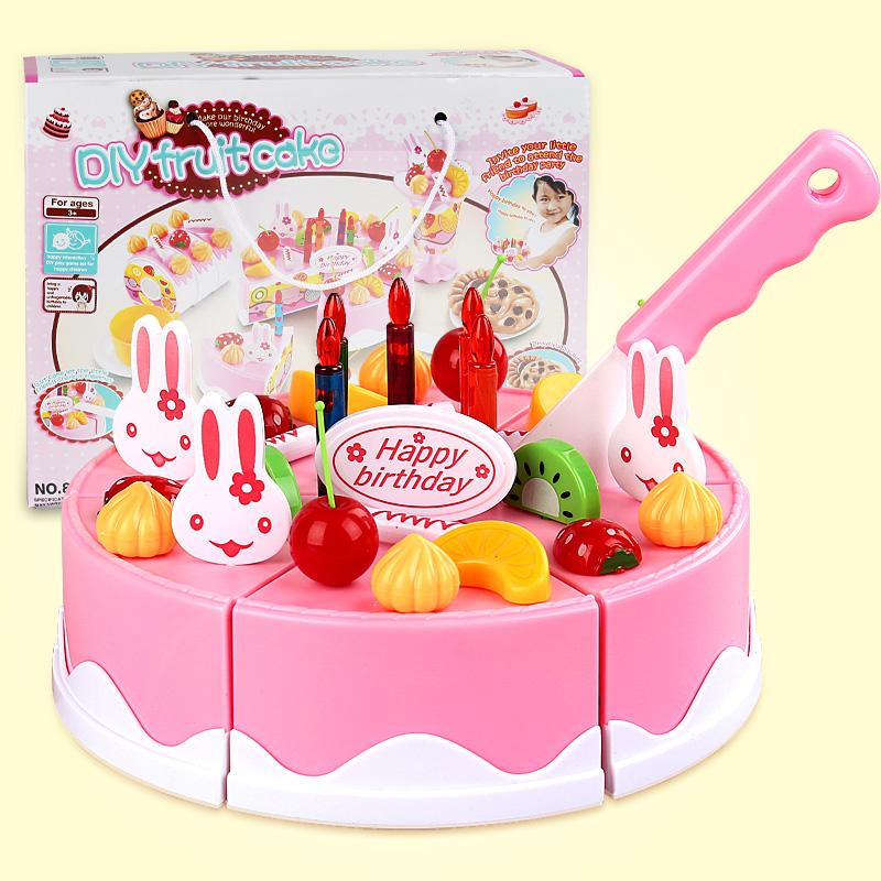 兒童仿真生日蛋糕1~2~3~4~5~6~7歲以上小女孩女童女寶寶益智玩具