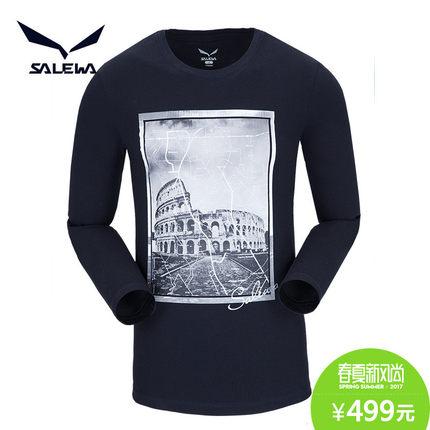 2017年新款,Salewa 沙乐华 男士速干长袖T恤 199元包邮
