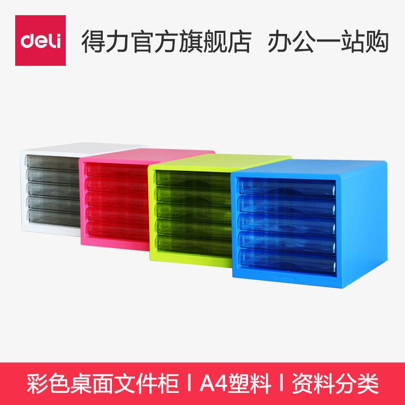 Компетентный 9777 картотеки цвет рабочий стол картотеки A4 пластик выдвижной ящик данные классификация хранение кабинет белый