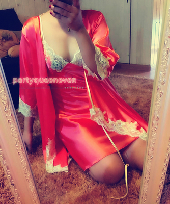 EvenVIP Europe and the United States foreign trade the original single Victoria gorgeous socialite silky high-grade nightgown robe suit household