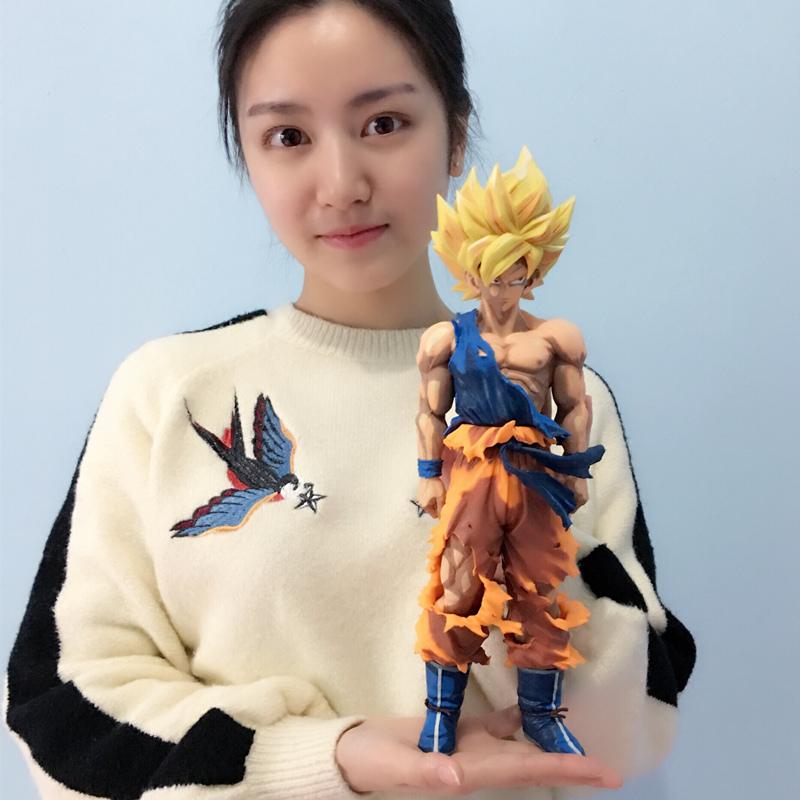 七龙珠悟空贝吉塔悟饭卡卡罗特大号手办动漫周边礼物摆件模型人偶