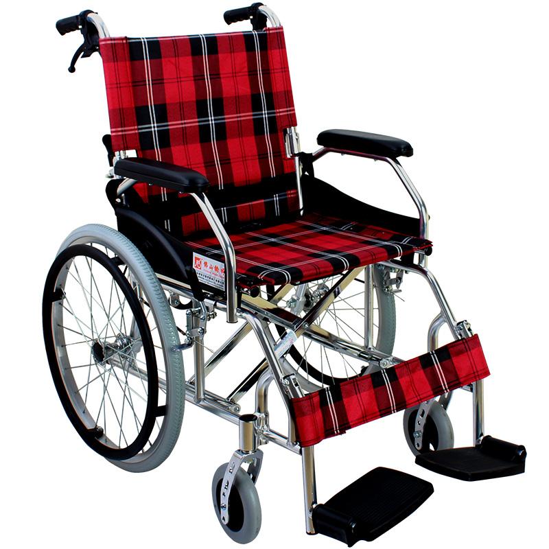 Фошань круглый стул FS868L сложить легкий алюминиевых сплавов вручную круглый стул автомобиль пожилой человек инвалид болезнь человек поколение шаг круглый стул автомобиль