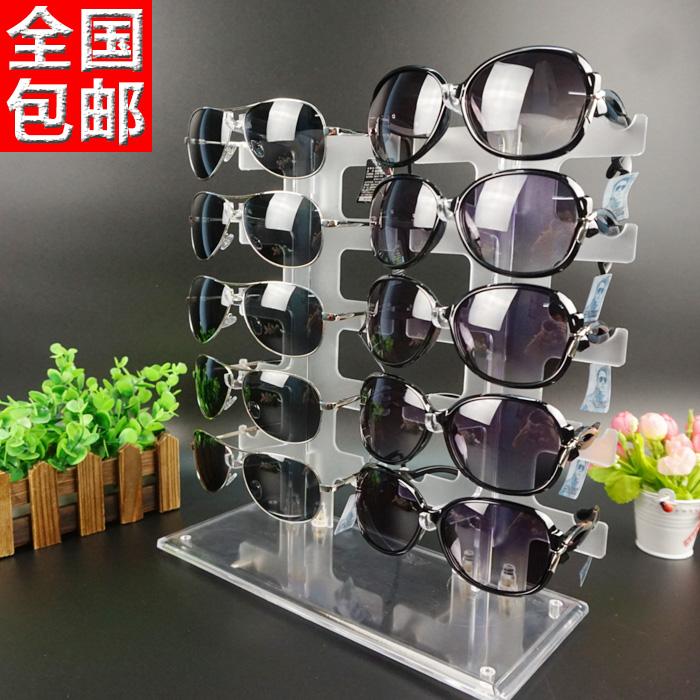 眼镜展示架 太阳镜展示道具 墨镜架子 眼睛陈列架 货架展示支架