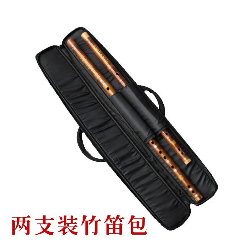 Холст флейта пакет бамбук флейта пакет коробка 2 филиал 4 только 6 только установлен может нести может быть единая плечо губка ударопрочный отправить фильм отправить клей