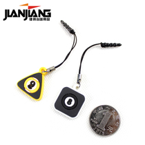 Jianjiang Billiards Pendant peripheral Cartoon toy billiards table fan key mobile phone pendant 2 prices