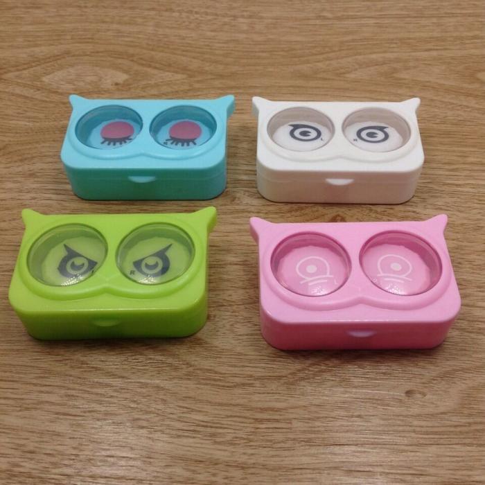 Новый прекрасный зрачок коробка спутник коробка хитрость очки двойной коробка медсестра коробка яркий внимание 893