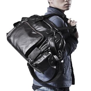 韩版男士商务手提 大容量单肩  潮男斜挎 休闲旅行 出差
