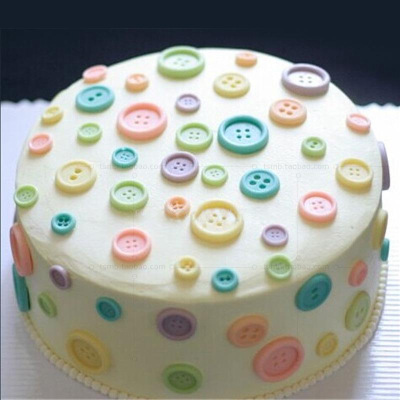 Кнопка кнопка кнопка конфеты плесень шоколад силиконовые Фондант прессформы формы выпечки прессформы