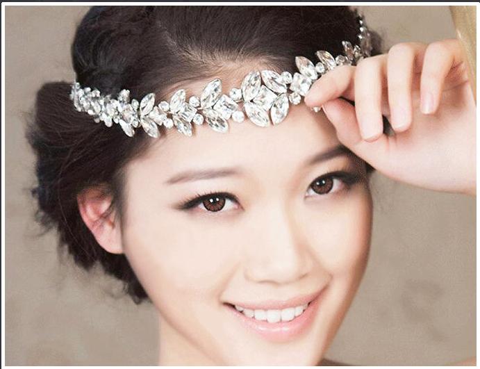 Аренда 10 юань чернила чернила свадьба невеста аксессуары ожерелье, серьги императорская корона три необязательный выход жемчужина твердый цветы