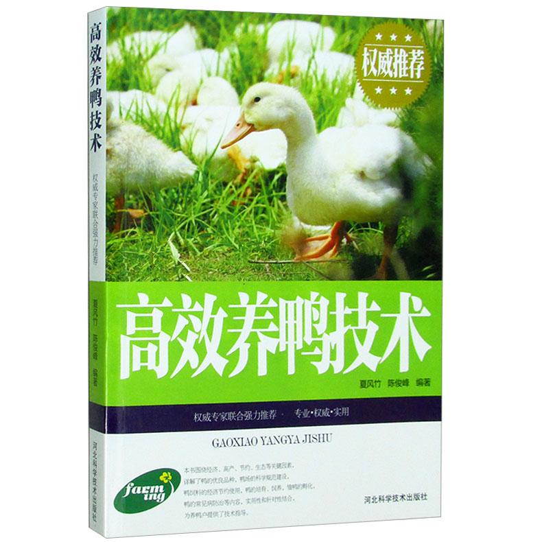 正版包邮 高效养鸭技术 鸭品种选择种鸭培育鸭蛋孵化-养殖书籍(萤火悦读图书专营店仅售18.8元)
