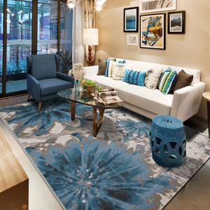 地中海地毯客厅垫欧...
