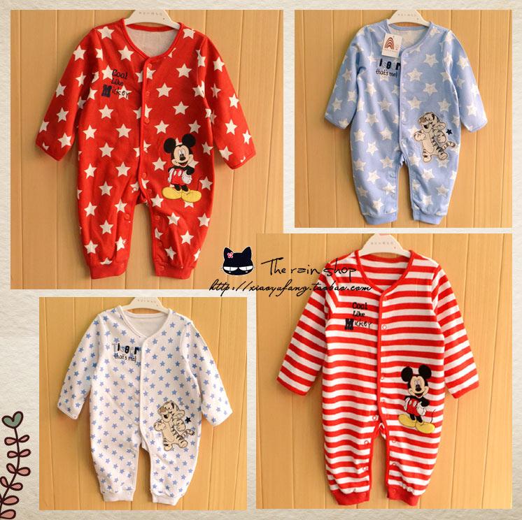 Внешней торговли оригинальный D * младенческой ребенка мальчиков цельный комбинезон комбинезон хлопка весной 5300 ткань верхней