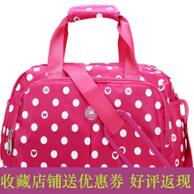 ZhiErNa authentic 2015 new bag fashion wave hand the bill of lading shoulder large capacity duffel bag to receive bag