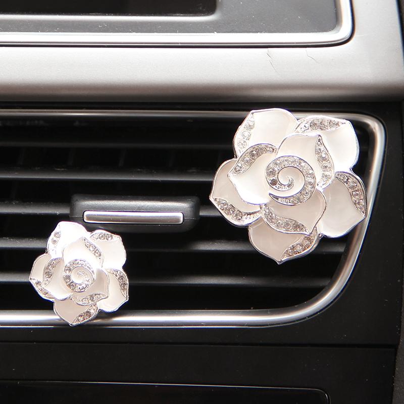汽車用香水座式車載車用空調出風口香水夾保平安車內飾品擺件車飾