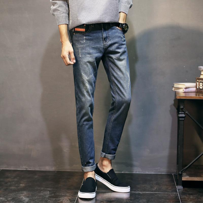 青少年小腳牛仔 牛仔褲