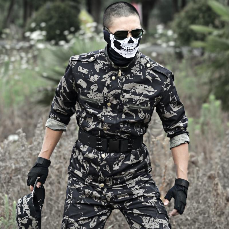盾郎户外骑行半面骷髅面罩下半脸防护cs战术恐怖面具军迷防尘用品