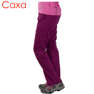 Two parts detachable quick drying pants outdoors autumn female Korean Slim fast drying breathable outdoor hiking mountaineering jogging trousers