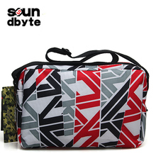 DRACONITE euramerican fashion printing die hand bag couples fly canvas waterproof male men bags 22005