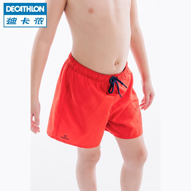 Следовать карта леннон флагманский магазин ребенок ребенок купальный костюм мальчиков плавки пляж брюки плавать шорты быстросохнущие TRIBORD-S