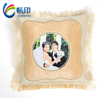 Smooth printing thermal transfer blank pillow thermal transfer supplies diy thermal transfer pillowcases European wedding pillowcases