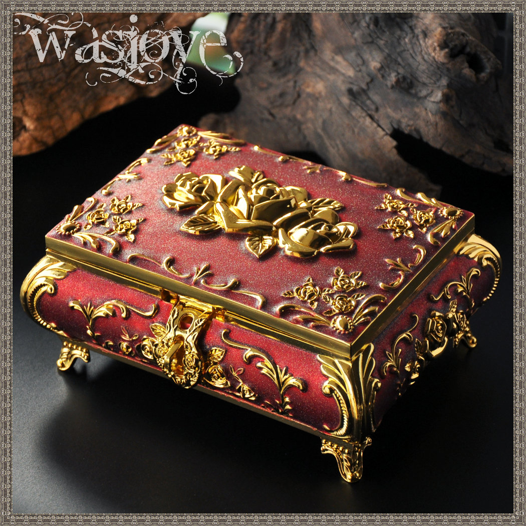 狄安娜·復古歐式公主首飾盒