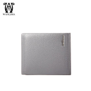Wanlima/million 2015 early fall short bi-new men's wallets genuine leather thread business casual wallets