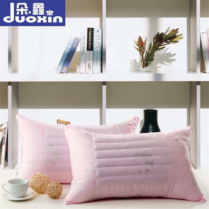 朵鑫家紡舒適柔軟保健護頸枕芯學生單人蕎麥兩用枕頭芯子枕心