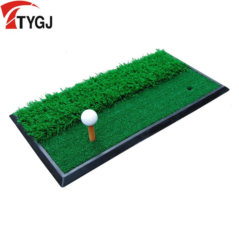 TTYGJ гольф команда поляк тренажёр длинный короткий трава мат команда поляк вырезать двухполюсный использование подушка golf мяч подушка