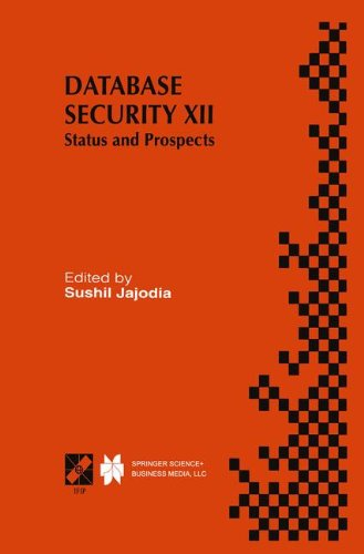 【预订】Database Security XII: Status and Prospects