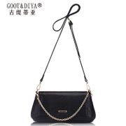 Small packets of Jurchen leather women bag 2015 boom chain bag for fall/winter fashion suede leather shoulder bag Messenger bag