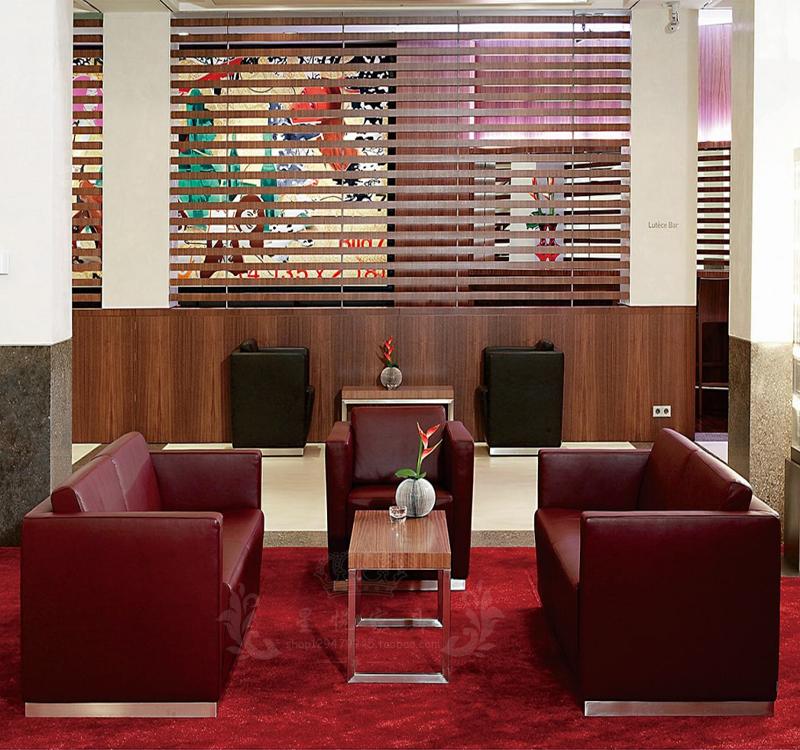 简约现代办公家具酒店 宾馆会所 住宅 客厅沙发中试办公组合沙发