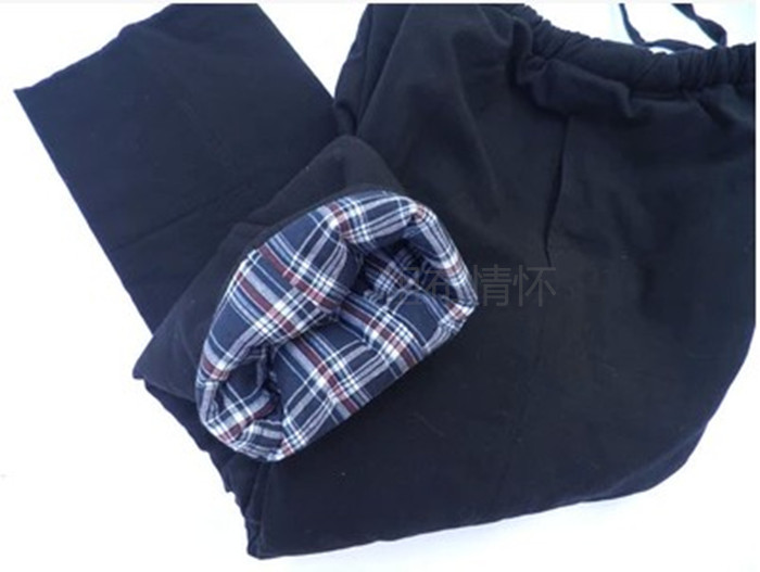 Old cotton casual cotton trousers with warm and thick Chinese style trousers for men