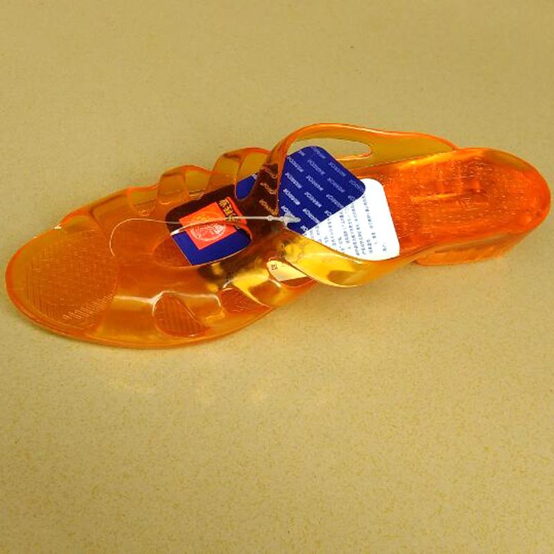 上海回力女鞋爆款水晶防滑中老年凉拖 户外浴室居家拖鞋正品包邮