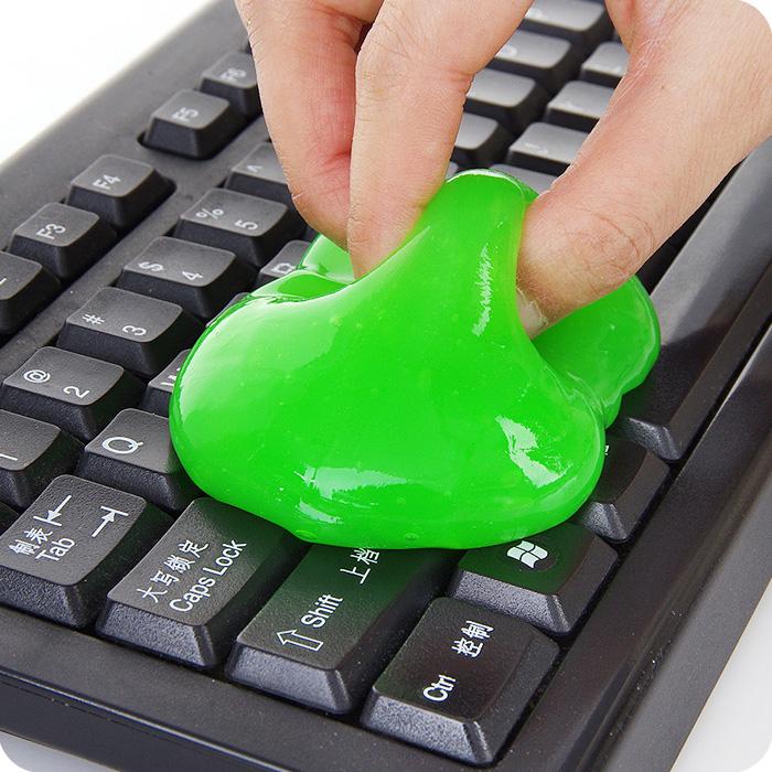 Волшебная волшебная клей волшебная пыль компьютерная клавиатура ноутбука чистая грязевая пыль резиновая клавиатура грязь
