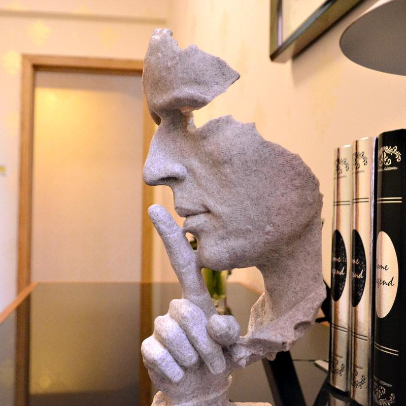 客廳辦公室書房書櫃擺件工藝  歐式裝飾品人物藝術品擺設