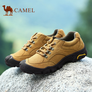 骆驼男鞋 冬季新款男士日常休闲男鞋真皮徒步鞋山地鞋休闲鞋