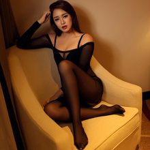 High-grade sexy lingerie Even the filar socks element face long sleeve S147