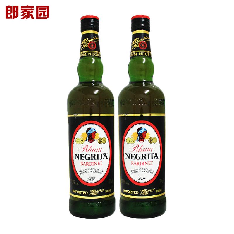 �p�炮【洋酒】Bardinet Negrita Rum必得利�{格力特黑朗姆酒
