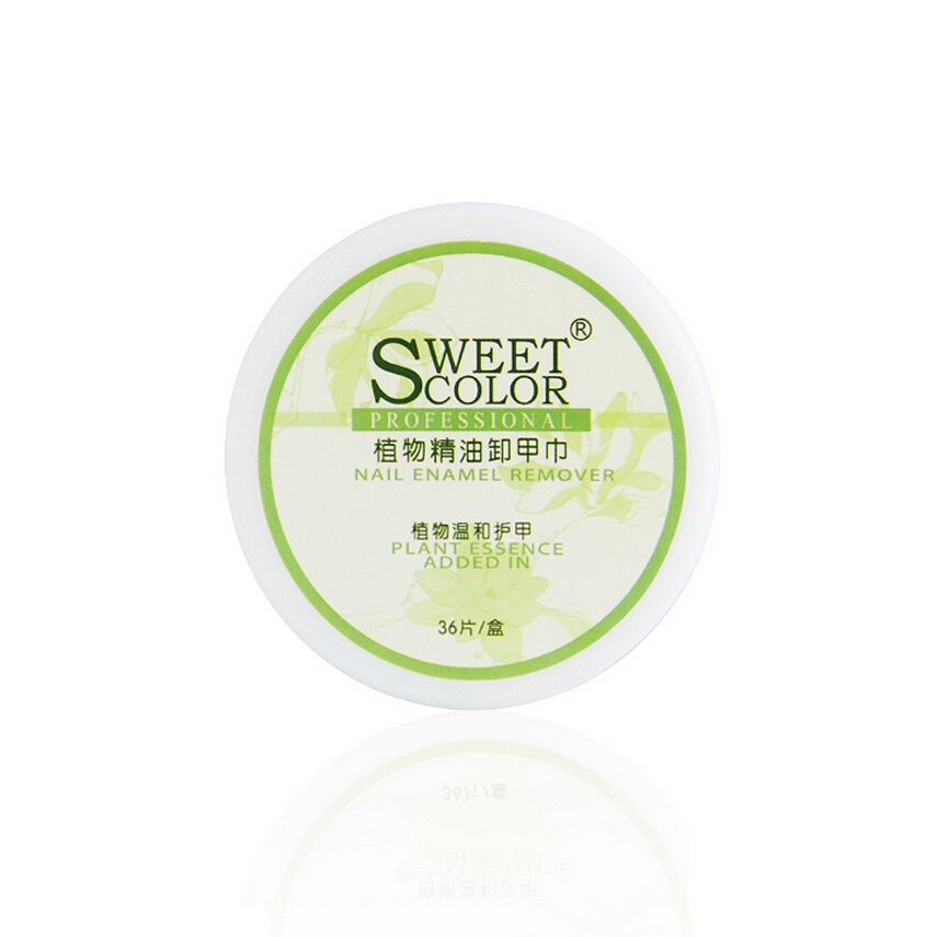 Sweetcolor plant essential oil nail remover