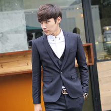Autumn coat the new 2015 British fashion casual single west han edition small suit temperament cultivate one's morality men's suits