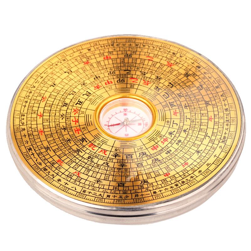聚緣閣純銅 風水羅盤羅經羅經儀羅盤儀綜合盤指南針測方位小